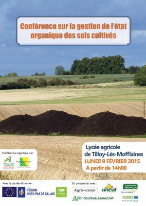 Conférence sur la gestion de l'état organique des sols cultivés