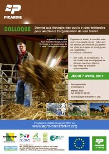 Colloque Pact'Élevage «Donner aux éleveurs des outils et des méthodes améliorer l'organisation de leur travail»