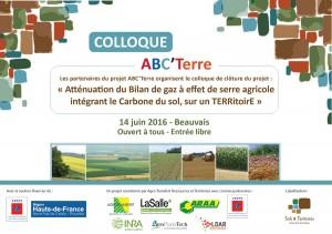 Colloque ABC'Terre à Beauvais 14 juin 2016