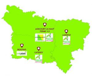 carte reseau de sites lieux