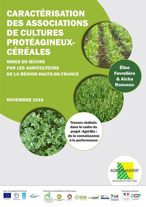 page couv synthèse association de cultures protéagineux céréales