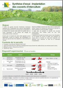 Implantation des couverts végétaux…